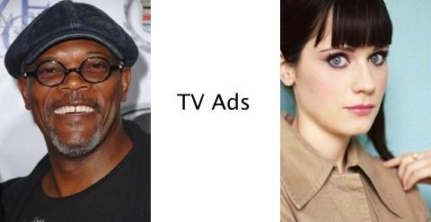 Samuel Jackson & Zooey Deschanel star in Siri Ads