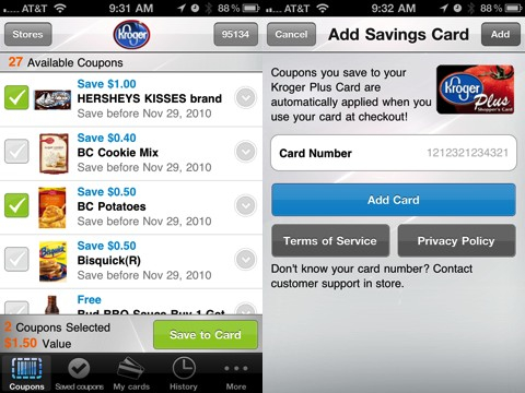 Cellfire Mobile Coupons iPhone app review