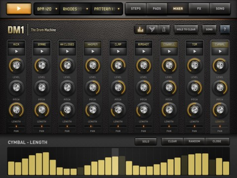 DM1 - The Drum Machine iPad app review