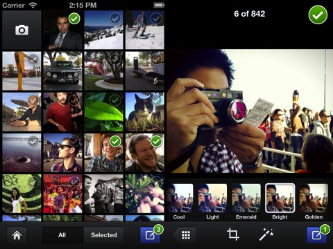 Facebook Camera iPhone app review