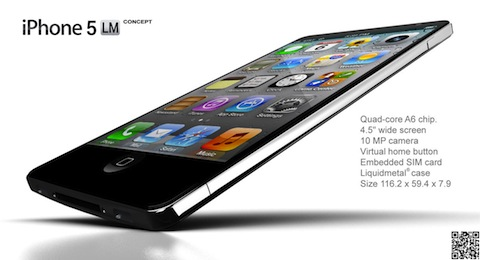 iPhone 5 LM Concept design from NAK Studio