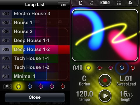 KORG iKaossilator iPhone and iPad app review
