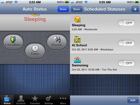 My Status iPhone app review