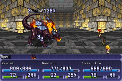 RPG - Symphony of Eternity iPhone app review