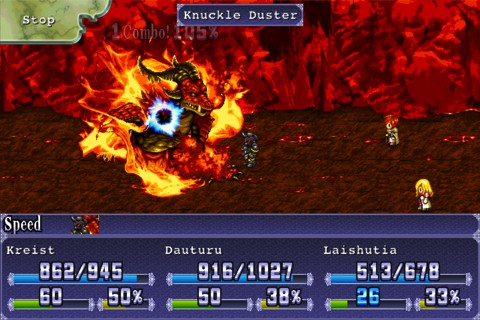 RPG - Symphony of Eternity iPhone game review