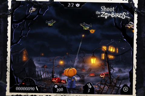 Shoot the Zombirds! iPhone app review