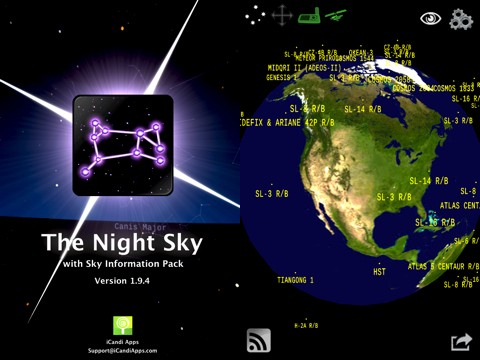 The Night Sky iPhone app review