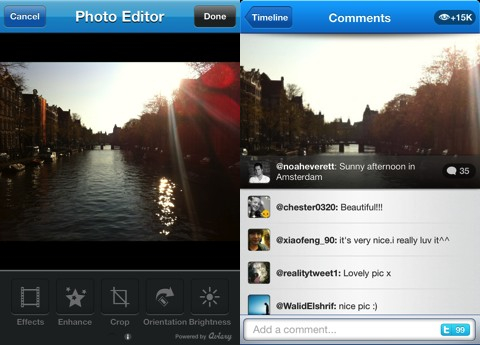 Twitpic iPhone app review