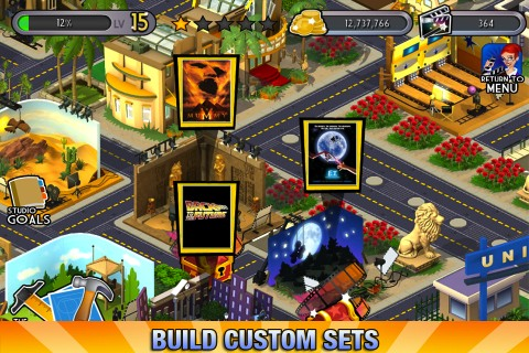 Universal Movie Tycoon iPhone app review