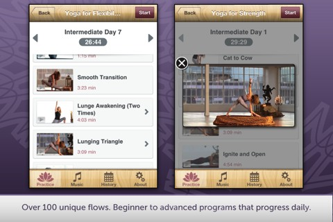 Yoga with Janet Stone iPhone app review