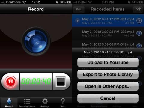 Display Recorder iPhone app review