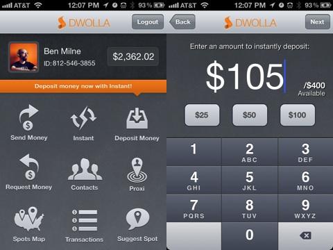 Dwolla iPhone app review