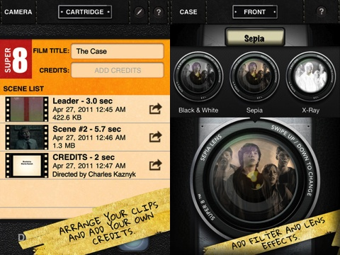 Super 8 iPhone app review