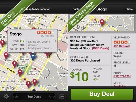 BiteHunter - Dining Deals for Restaurants iPhone app review