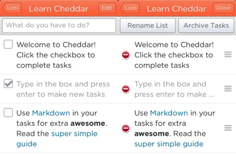 Cheddar iPhone app review