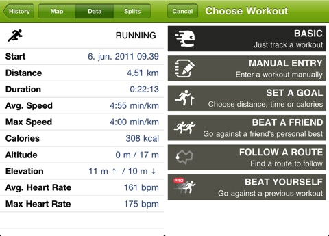 Endomondo Sports Tracker iPhone app review