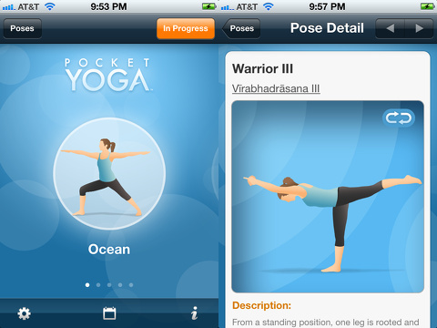 Pocket Yoga iPhone app review