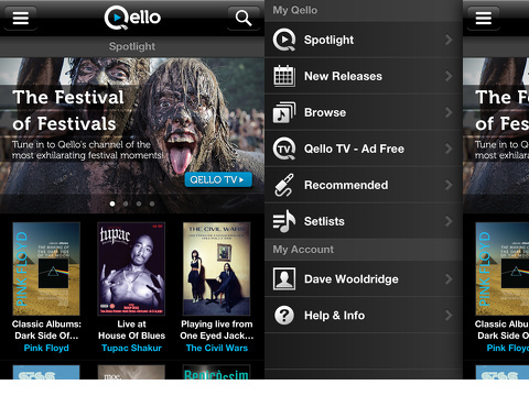 Qello - Watch HD Music Concerts iOS app review