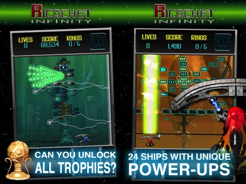 Ricochet Infinity iPhone app review
