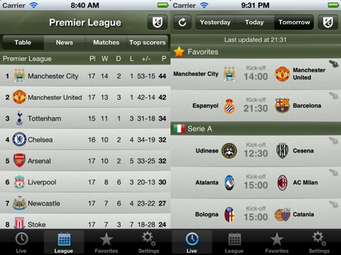 Soccer Scores Pro - FotMob iPhone app review