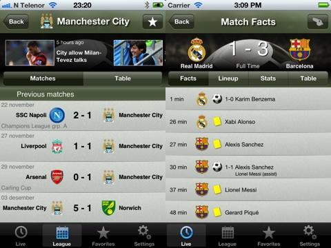 Soccer Scores Pro – FotMob iPhone app review | AppSafari