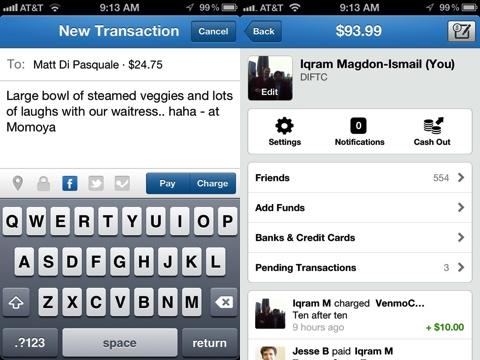 Venmo iPhone app review