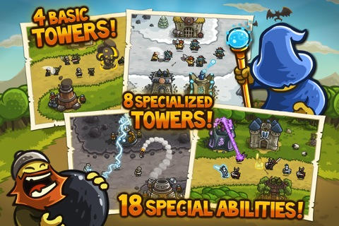 Kingdom Rush iPhone app review