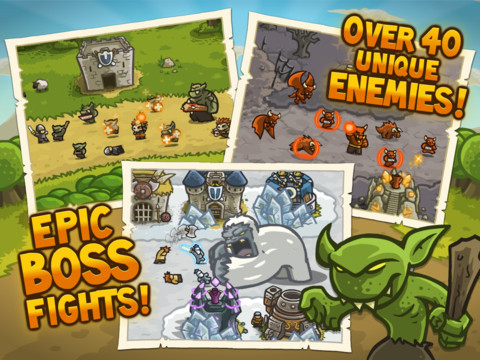 Kingdom Rush HD iPad app review