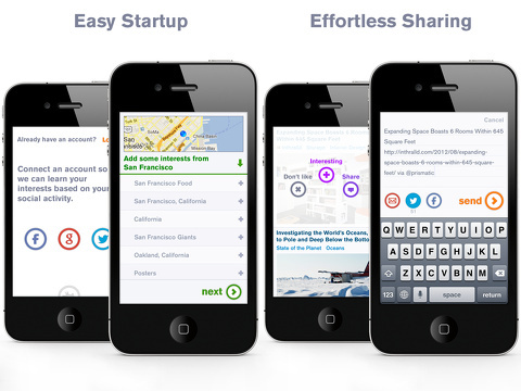 prismatic always interesting iphone app