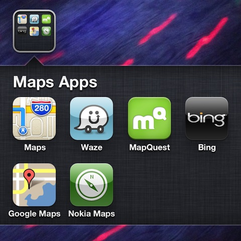 Applist: Alternative Apps to Apple Maps for the iPhone