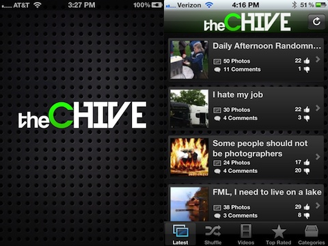 theCHIVE Lite iPhone app review