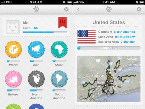 fog of world iphone app