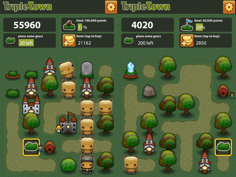 Triple Town iPhone game review