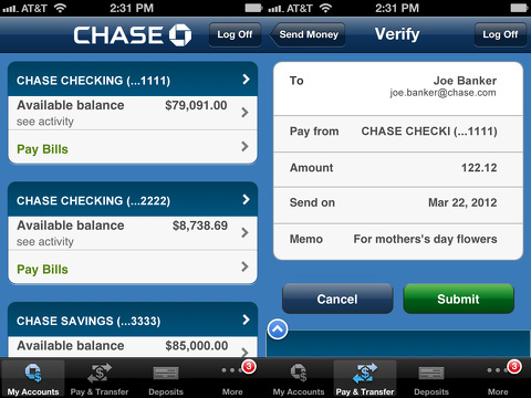 Chase Mobile iPhone app review