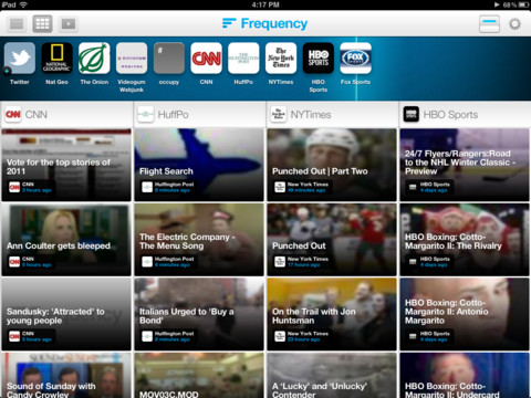 Frequency ~ Tune In, Watch Videos iPad app review
