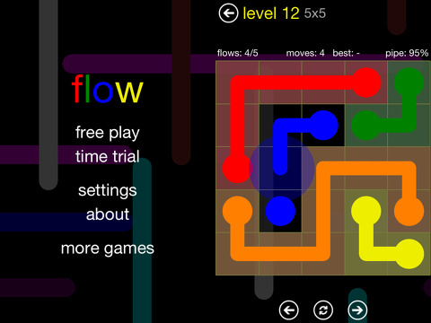 flow free iphone app review