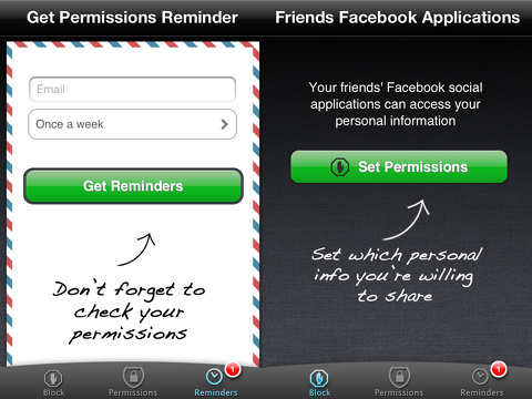permissions iphone app review