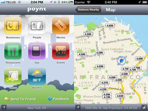 Poynt iphone app review