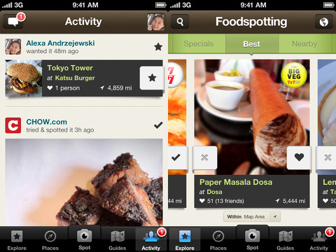 foodspotting iphone app review