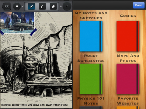 sketchworthy notes, sketches, and ideas iphone app review