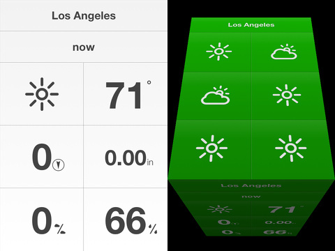 weathercube gestural weather iphone app review