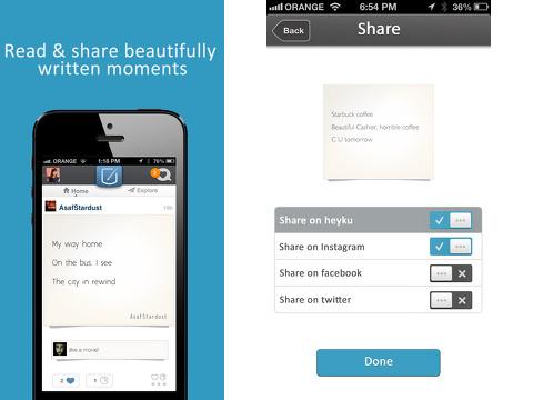 heyku iphone app review