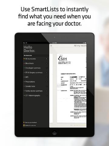 Hello Doctor - Medical records organizer