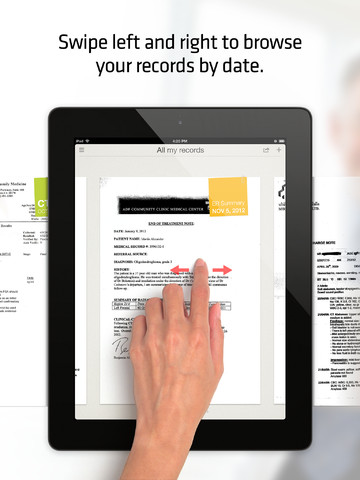 iPad app review of Hello Doctor - Medical records organizer