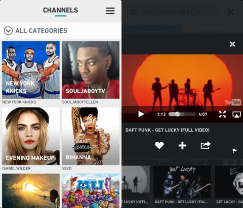 Rockpack - Video & music done right iPad app reviewed by AppSafari
