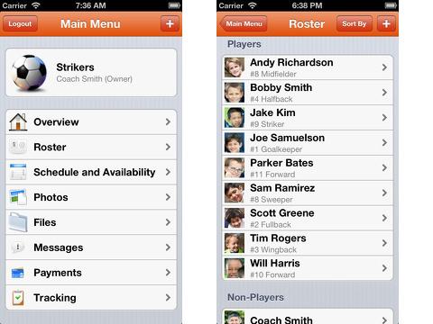 teamsnap iphone app review