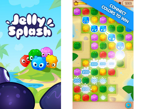 jelly splash iphone app review