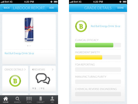 labdoor product safety iphone app review