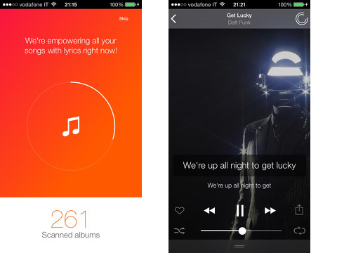 musixmatch lyrics player iphone app review