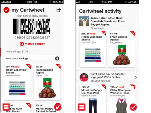cartwheel by target iphone app review